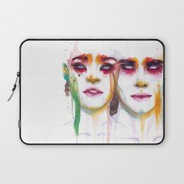 Silence and Echo Laptop Sleeve