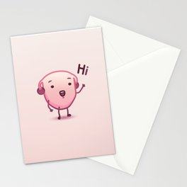 Ooti the Uterus - Hi Stationery Cards