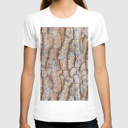 Pine bark textures T-shirt