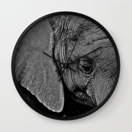 Beauty is Skin Deep Wall Clock