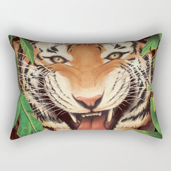 Guardian of the Jungle Rectangular Pillow