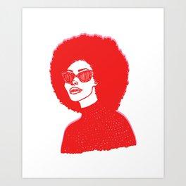 Kara Art Print