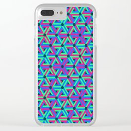 Delta Wave Clear iPhone Case
