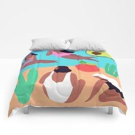 Fruity Beach Comforters