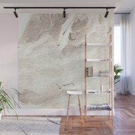 Clear Quartz Crystal Watercolor Wall Mural