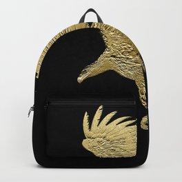 """""""Golden Boy"""" Eagle Design Backpack"""