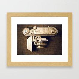 Charlie's Retina IIa. Framed Art Print