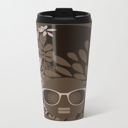 Afro Diva : Brown Sophisticated Lady Travel Mug