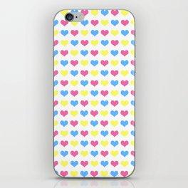 '80s hearts (larger) - Back to Basics iPhone Skin