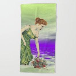 vintage memories -03- Beach Towel