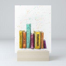 The Books of Seven Mini Art Print