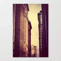 inception Canvas Prints featuring Inception by Caleb Troy