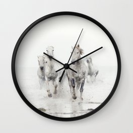 Ghost Riders - Horse Art Wall Clock