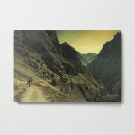 Cares. Picos d'Europa, Spain. Metal Print