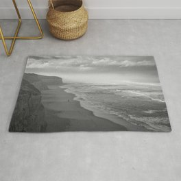 First Footsteps On The Beach Rug