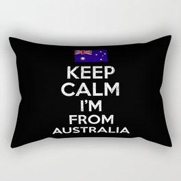 Australia Keep Calm Rectangular Pillow