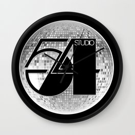 Studio 54 - Discoteque Wall Clock