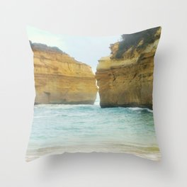 On a Collision Course Throw Pillow