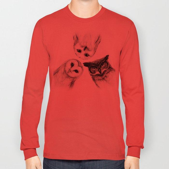 The Owl's 3 Long Sleeve T-shirt