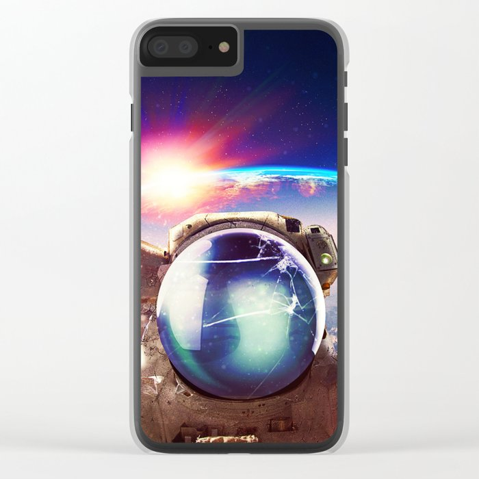 From Outside Clear iPhone Case