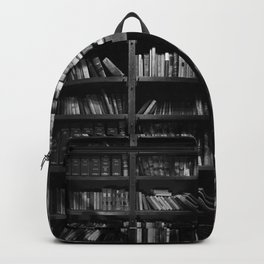 Antique Library Shelves - Books, Books and More Books Backpack