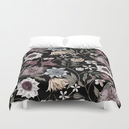 colorful floral pattern II Duvet Cover