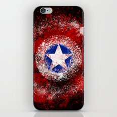 Avengers - Captain America iPhone & iPod Skin