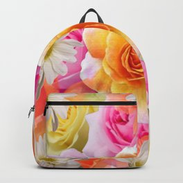 Spring Flowers Galore Absstract Backpack