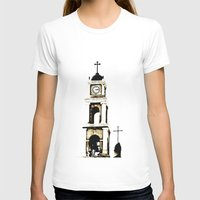 israel T-shirts featuring St. Peter's Church, Jaffa, Israel by Philippe Gerber