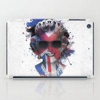 deadmau5 iPad Cases featuring Queen Listen Music by Sitchko Igor