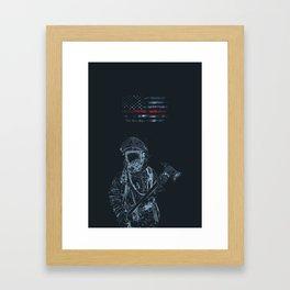 FireArt Framed Art Print