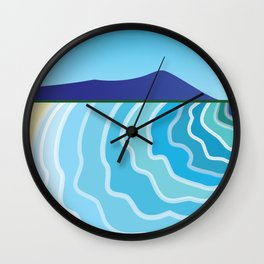 Diamond Head Wall Clock