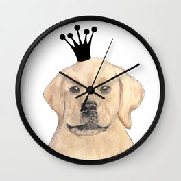 Labrador Royal Wall Clock