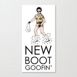 New Boot Goofin' Canvas Print