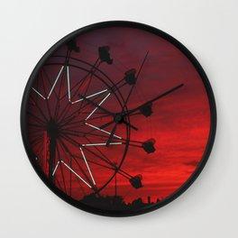 ferris wheel V Wall Clock