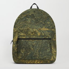 golden scales of the dragon ares | space 014 Backpack