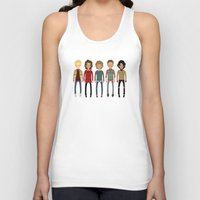 cargline Tank Tops featuring Christmas Sweaters by cargline