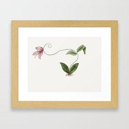 Floral Roots Framed Art Print