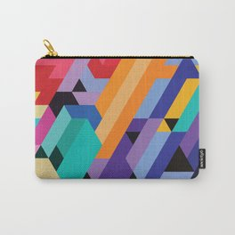 Flat Geometry 01 Carry-All Pouch