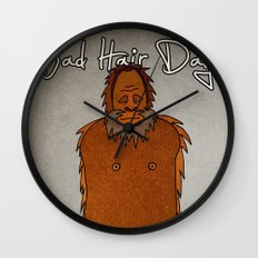 bad hair day no:4 / Bigfoot Wall Clock