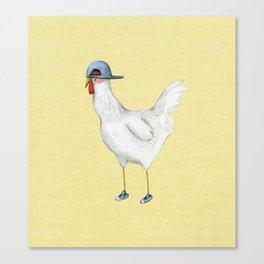 Spring Chicken Canvas Print