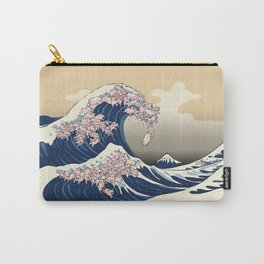 The Great Wave of Pigs Carry-All Pouch