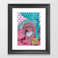 Mornin! Framed Art Print