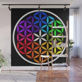 Secret flower of life Wall Mural