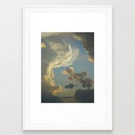 Beauty In The Sky Framed Art Print