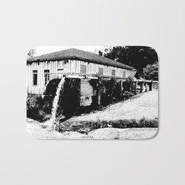 water mill house Bath Mat
