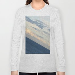 Sea View: The End of the World Long Sleeve T-shirt