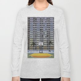 Hong Kong Basketball Long Sleeve T-shirt
