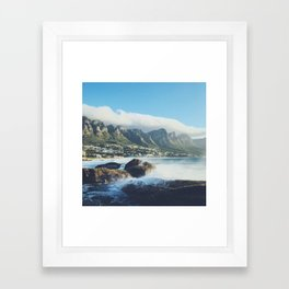 Hello Cape Town Framed Art Print