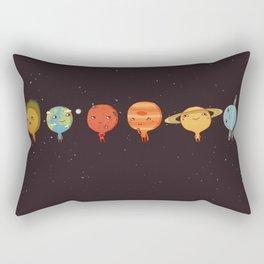 planet sun earth cute art new hot 2018 style cuteness star stars Rectangular Pillow